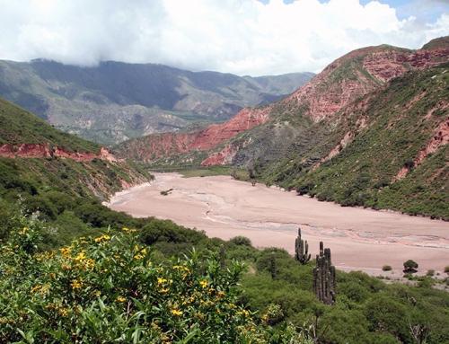 I suggestivi  paesaggi del nord ovest argentino