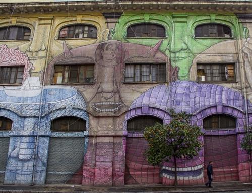 Anonimo (Blù) Street Art, via del Porto Fluviale, Roma