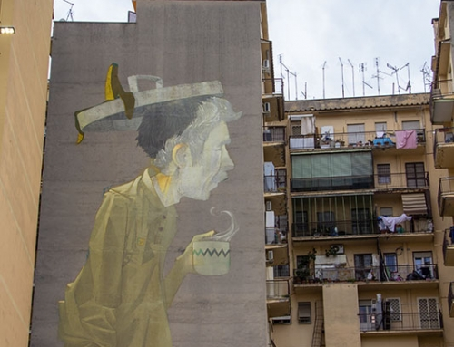 "Etam Cru ""Coffee Break"", Torpignattara, Roma"