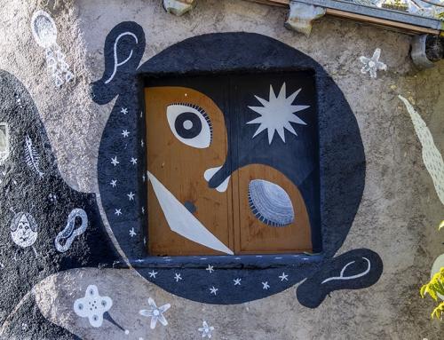 Aielli, un borgo medievale contaminato dalla street art
