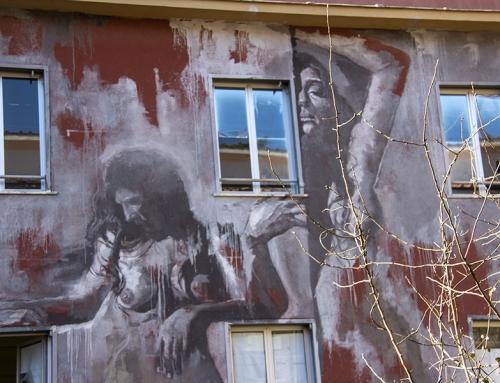 Primavalle: i murales realizzati e cancellati per protesta